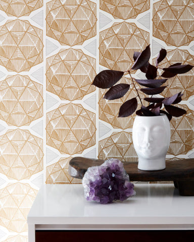 ESCHER-Gold Wallcovering