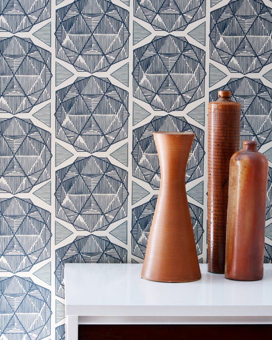 ESCHER-Parchment Wallcovering