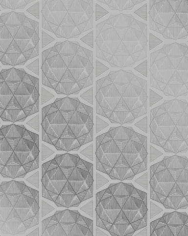 ESCHER-Gray Wallcovering