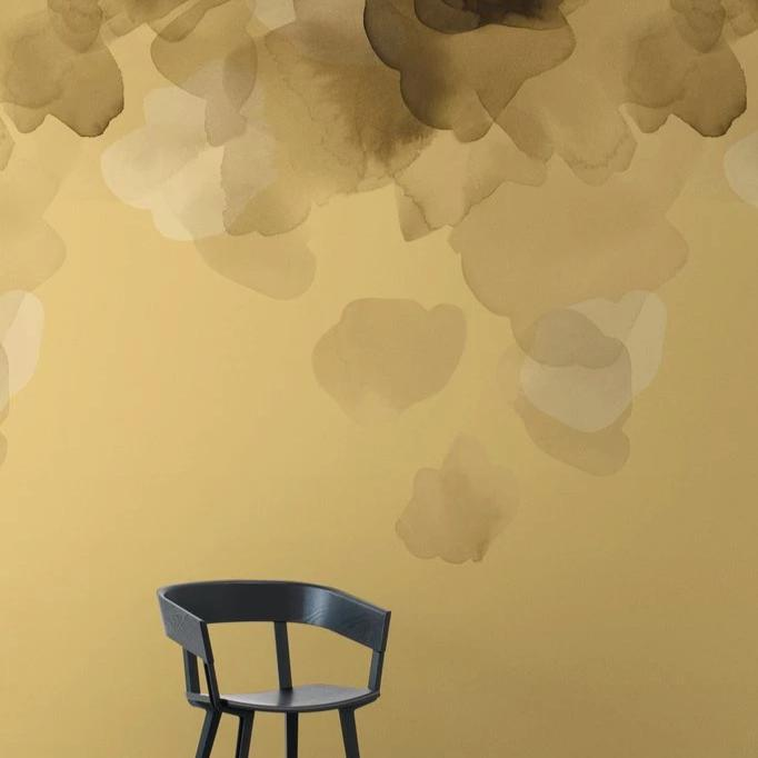 Bloom Gold Type II Wallcovering