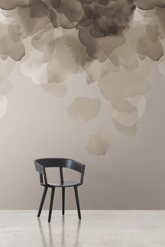 Bloom Silver Type II Wallcovering