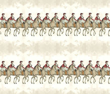 Load image into Gallery viewer, Equestrian Day Stripe Fabric