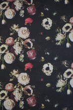 Load image into Gallery viewer, Into The Garden Black Fabric