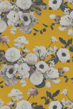 Load image into Gallery viewer, Into the Garden Gold Grasscloth Wallcovering