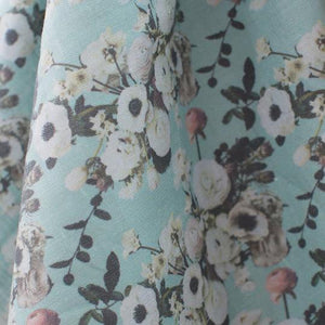 Into The Garden Sage Fabric