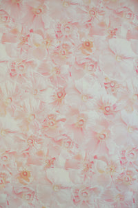 Pink Poppies Fabric