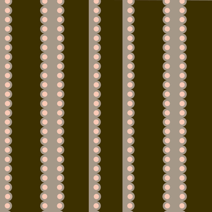 FELIX Dark Chocolate, Light Cocoa & Blush Wallcovering