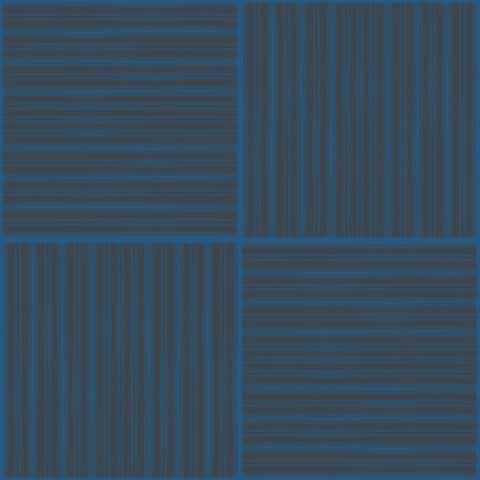 FRED Navy Wallcovering