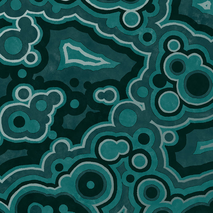 Agate Malachite Wallcovering