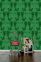 Load image into Gallery viewer, Frida Green Wallcovering