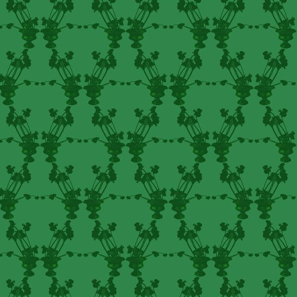 Frida Green Wallcovering