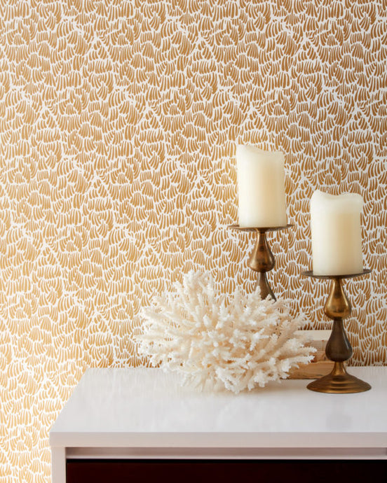 GAAR-Gold Wallcovering