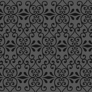 GINGER Charcoal Wallcovering
