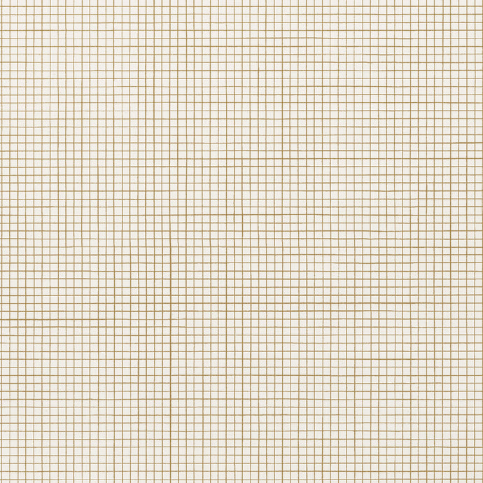 Graph - Gold Wallcovering
