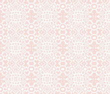 Load image into Gallery viewer, Geo Pinkish White Fabric