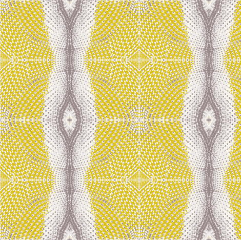 Glam Stripe Saffron Fabric