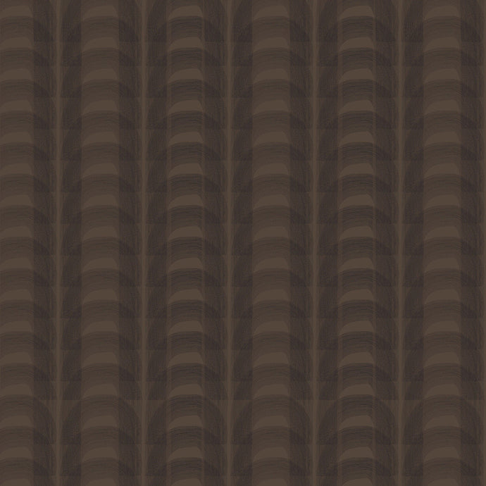 HECTOR Dark Chocolate & Charcoal Wallcovering