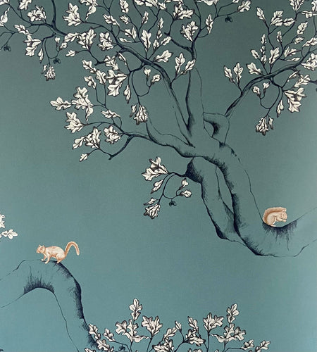 Nutcracker JTNC03 Green Wallcovering