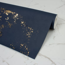 Load image into Gallery viewer, Igneous Navy Wallcovering