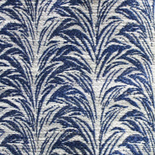 Load image into Gallery viewer, Zebra Royal Blue Indoor Outdoor Fabric