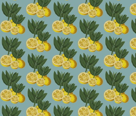 Italian Lemons Tiffany Fabric