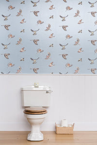 Early Bird JTEB02 Blue Wallcovering