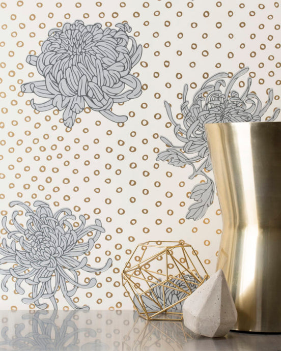 KANOKO-Gold Wallcovering