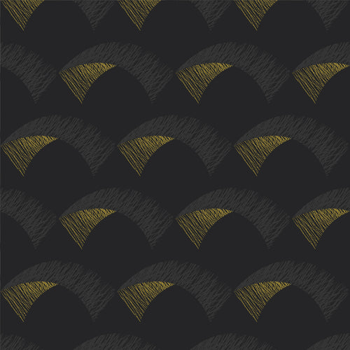 Kiteboard Charcoal Wallcovering