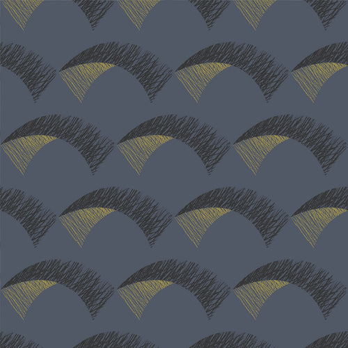 Kiteboard Navy Wallcovering