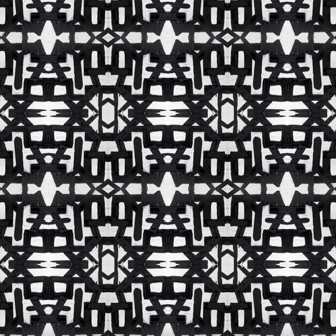 82113 Black White Alta Wallcovering