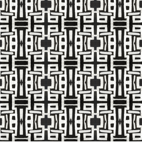 81613 Black White Alta Wallcovering
