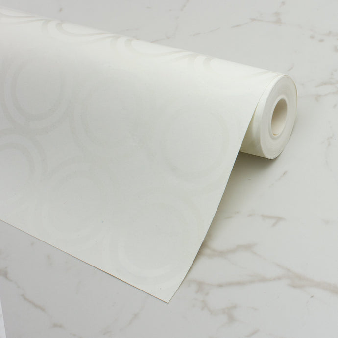 Palladian Loop Spot Gloss Wallcovering