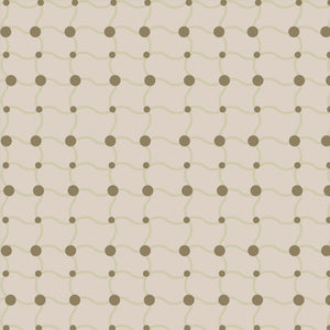 LUCY Taupe Wallcovering