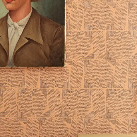 LAPEL in Camel Wallcovering