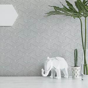 Linked Doodle Wallcovering