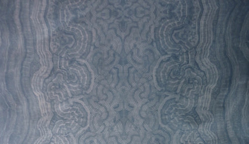 Malachite Baltic Blue Fabric