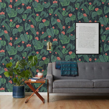 Load image into Gallery viewer, Tangle - Dark Green Wallcovering