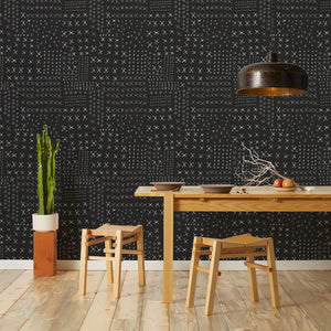 Wrought - Black Wallcovering
