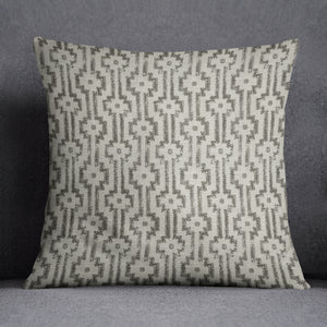 Shipibo Charcoal Pillow