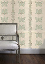Load image into Gallery viewer, Mariposa in Verde Grasscloth Wallcovering