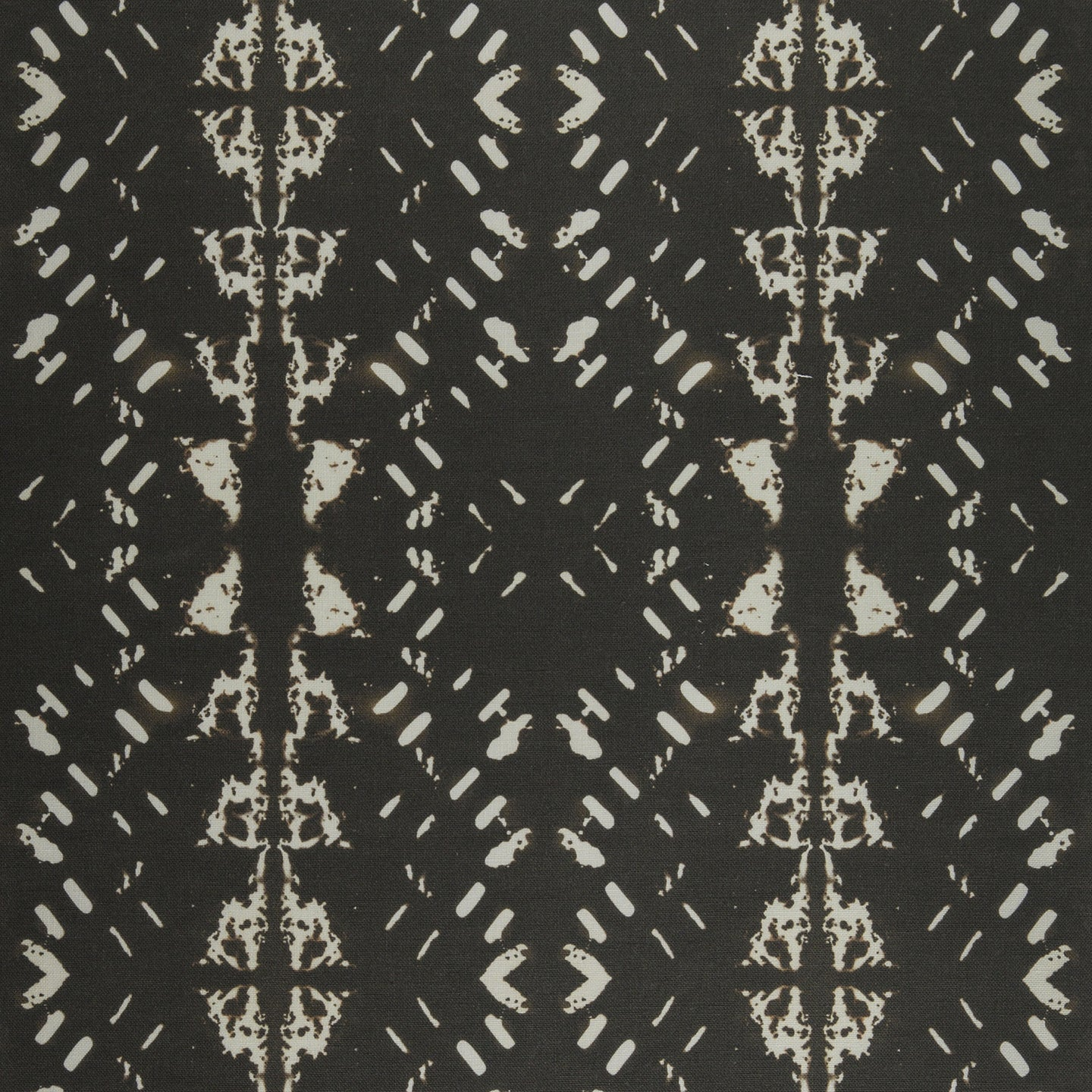 Native Embers (Black) Fabric