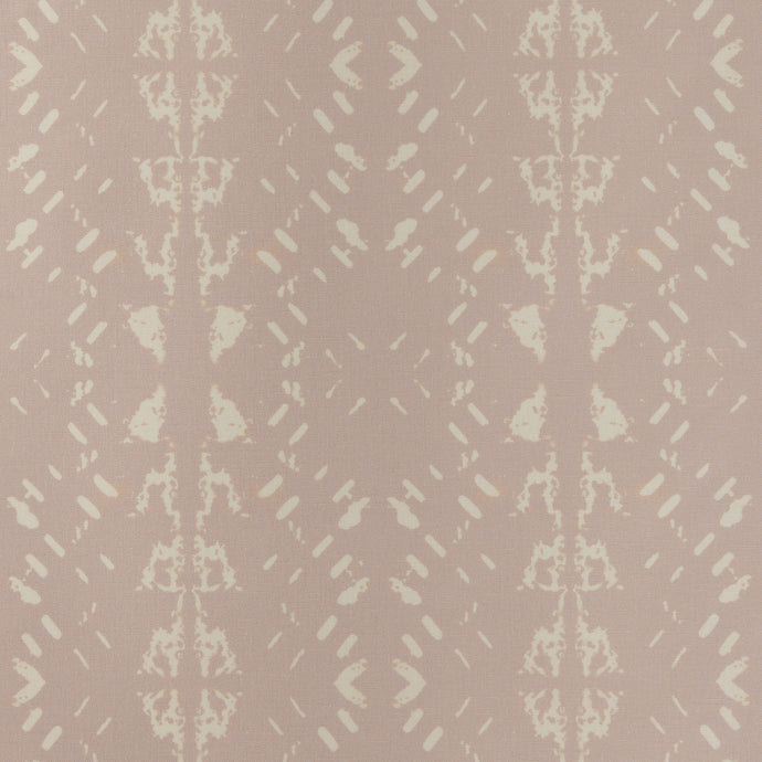Native Embers (Bleached Rose) Fabric