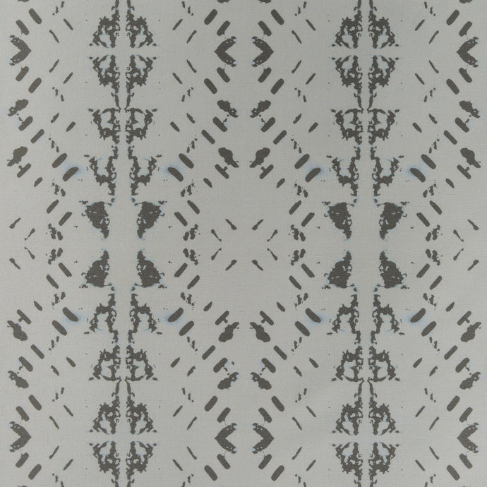 Native Embers (Silver) Fabric
