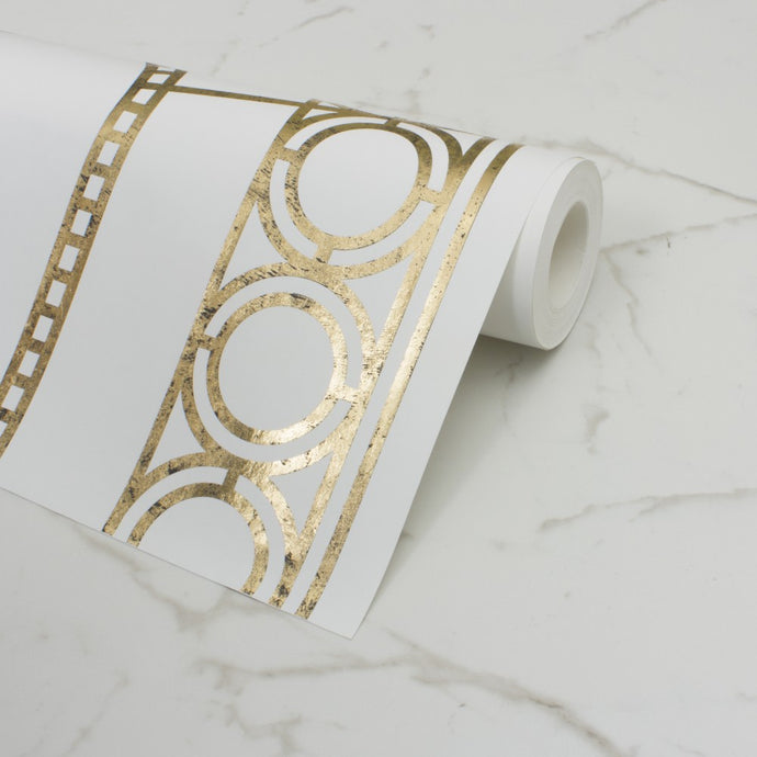Palladian Gold Wallcovering