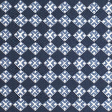Load image into Gallery viewer, Kiya Dark Navy on Oyster Fabric