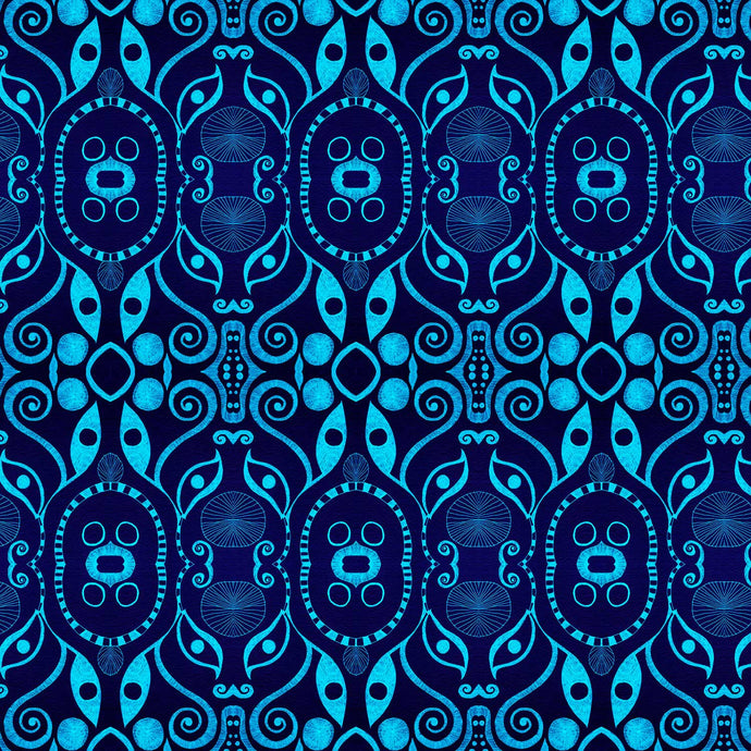 PLOOK Indigo Wallcovering