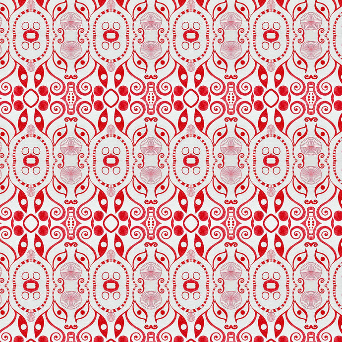 PLOOK Red Wallcovering