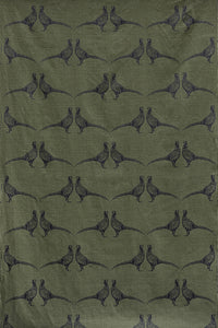 Pheasant - Camo Green Fabric