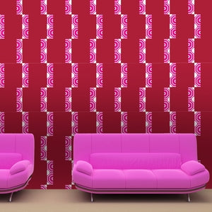RITA Saffron & Sunshine Wallcovering