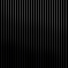 Load image into Gallery viewer, Pinstripe Black Silver Wallcovering